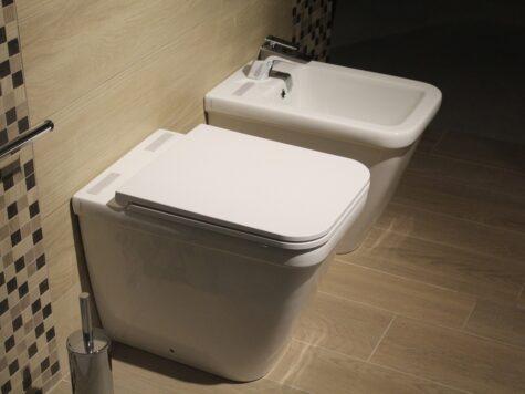 Bidet w toalecie